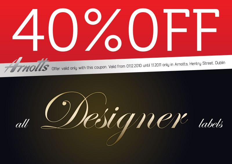 Designer-Coupon